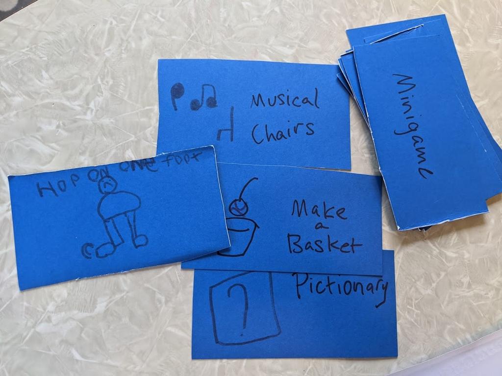 An assortment of minigames